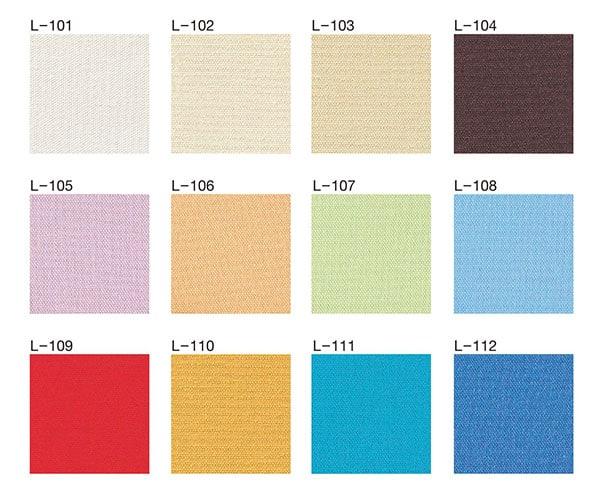 accordion door fabric selction